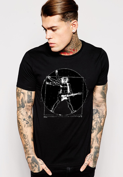 T-Shirt Da Vinci Rock Man