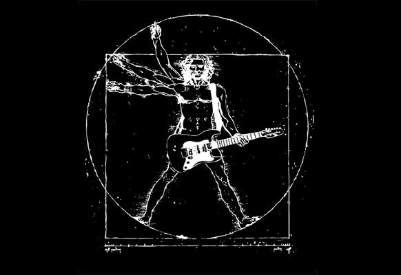 T-Shirt Da Vinci Rock Man