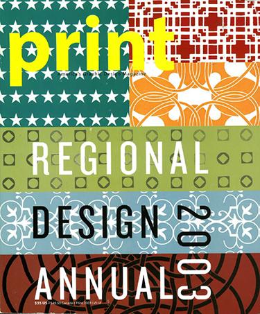 Print regional design annual 2003