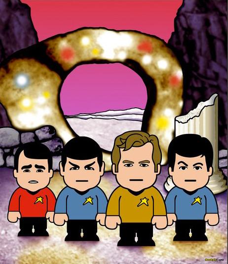 ToonStar Star Ship - Star Trek poster