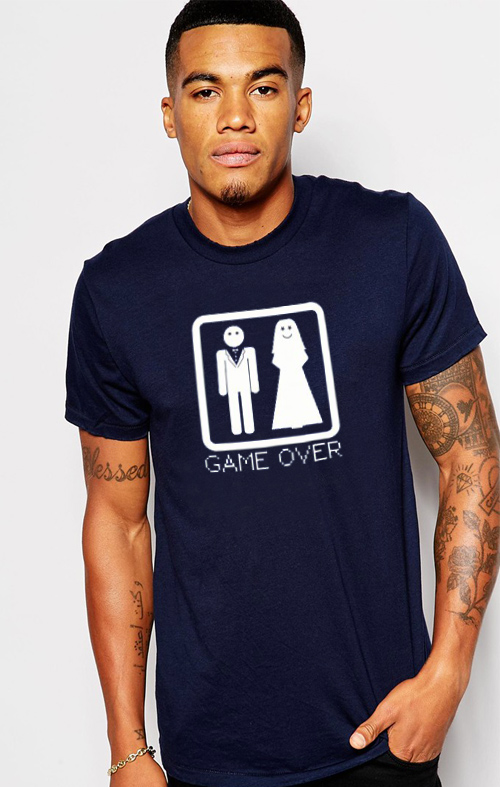 T-Shirt Game Over