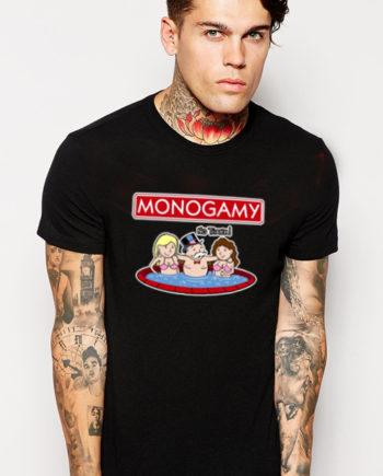 T-Shirt Monogamy No Thanks