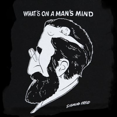 T-Shirt - What's On A Man's Mind