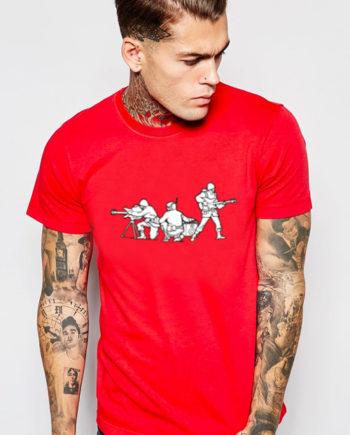 T-shirt Mp3 soldati