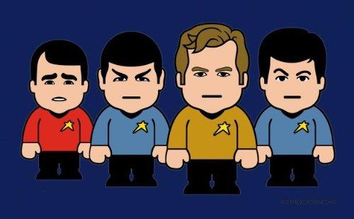 ToonStar Star Ship - Star Trek