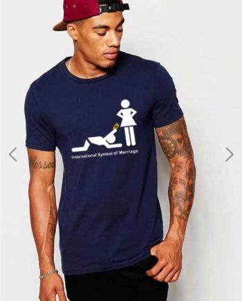 T-Shirt International Symbol of Marriage