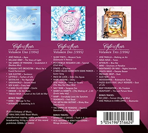 Café Del Mar Vol.1+2+3 (3 CD)