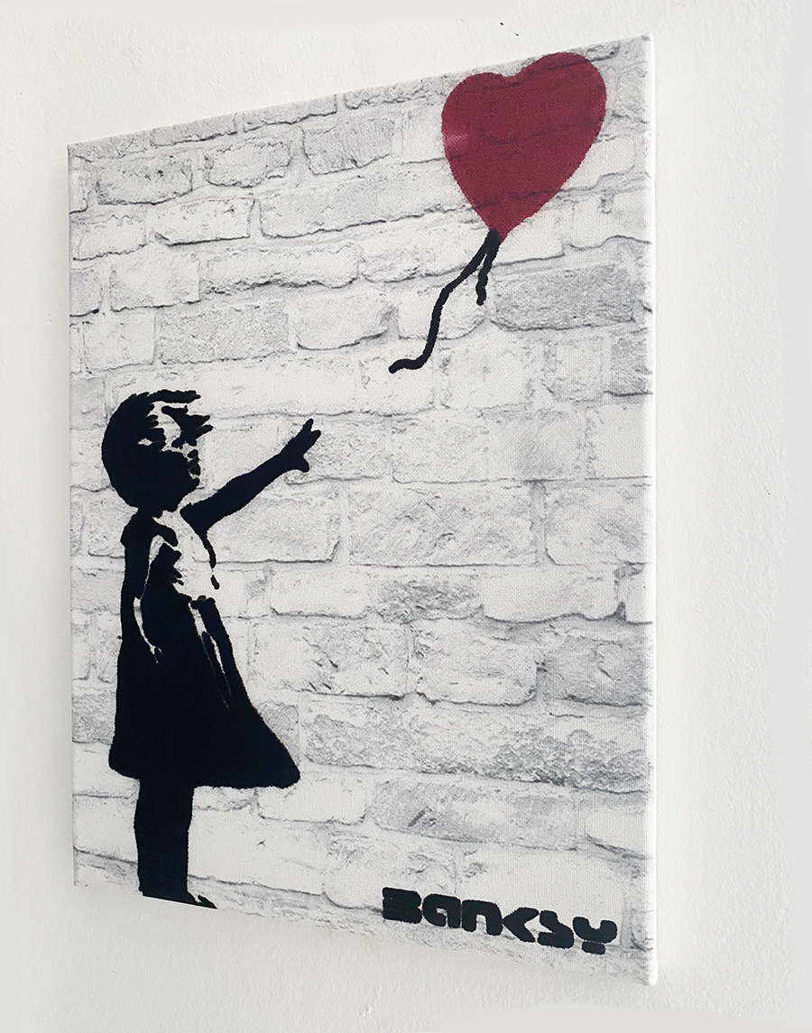 Banksy - Girl with the red balloon