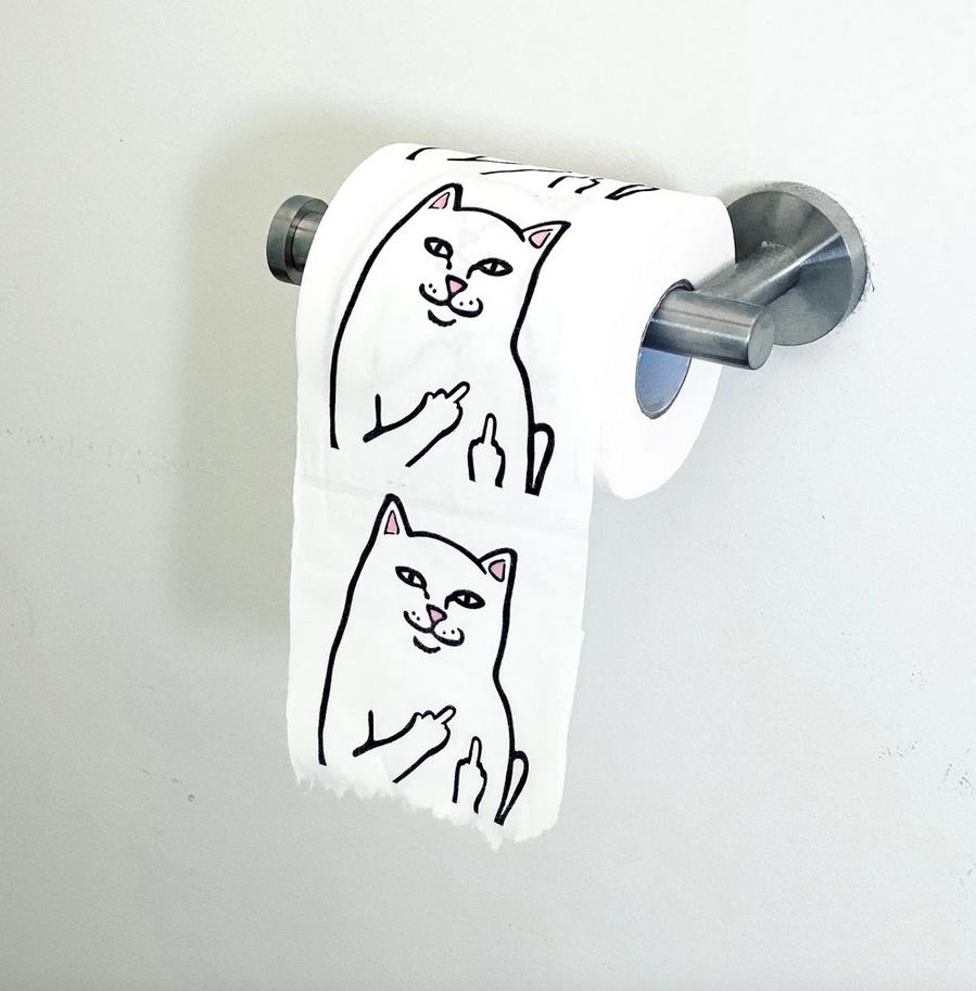 Lord Nermal Toilet Paper
