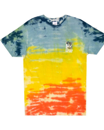 Ripndip Masterpiece Tee (Orange / Blue Tie Dye)