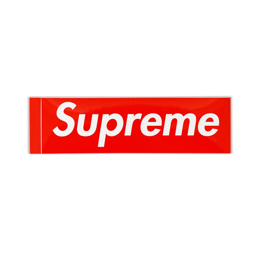 Supreme Box Logo Sticker